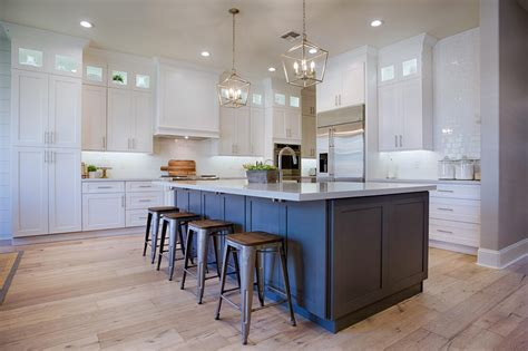 Ideas For Kitchen Cupboards by 35 Best Farmhouse Kitchen Cabinet Ideas And Designs For 2019