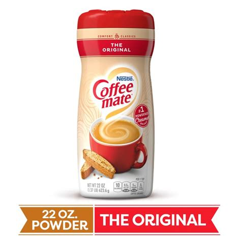 Our shelf stable liquid creamer singles are perfect for the office or break room. COFFEE MATE The Original Powder Coffee Creamer 22 Oz ...