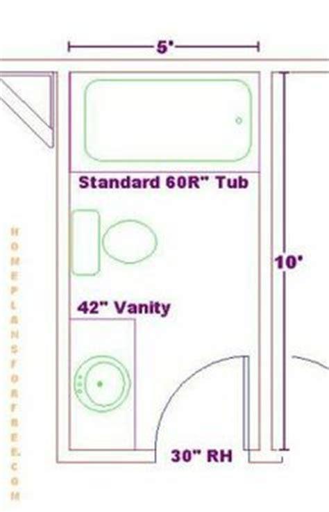 5x8 Bathroom Floor Plan by 5x9 Or 5x8 Bathroom Plans House Ideas
