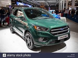 Ford Kuga 2017 St Line : brussels jan 19 2017 new 2017 ford kuga st line presented at the stock photo royalty free ~ Medecine-chirurgie-esthetiques.com Avis de Voitures