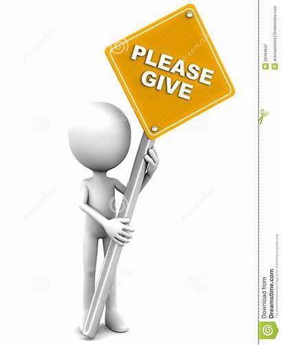 Give Never Donate Please Geben Sie Geef