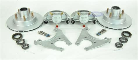 Boat Trailer Axle With Disc Brakes by Boat Trailer Disc Brake Kit Tandem Axle Complete With