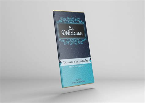 Consists of two psd files with 2000×1300 for the dimensions, this could be useful for your packaging design project. Free Chocolate Bar Label Mockup (PSD)