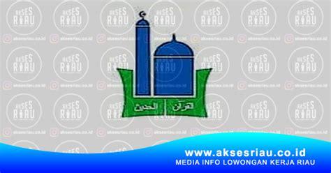 lowongan sekolah islam terpadu  taqwa pangkalan kerinci