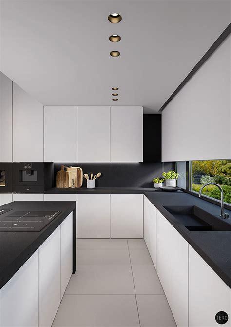 black and white kitchen designs photos cucina e nera eccovi 20 modelli dal design moderno 9275
