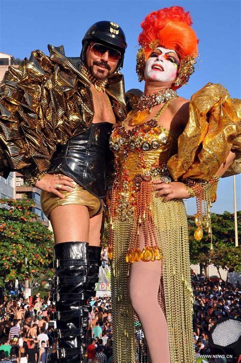 El Desfile del Orgullo Gay celebrado en la playa de Icaraí de Brasil_Spanish.china.org.cn_中国最权威的 ...