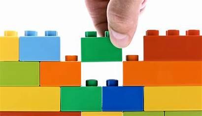 3d Printed Cue Legos Apart Structures Come
