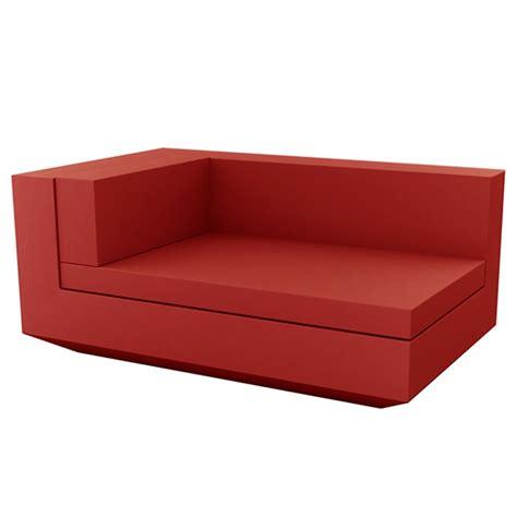 canapé chaise longue canapé modulable vela module droit chaise longue