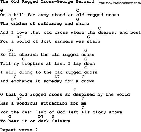 rugged cross lyrics the rugged cross pdf roselawnlutheran