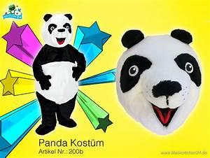 200b Kostm Panda Maskottchen 3 Hochwertig Maskottchen