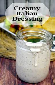 Dinner in no time! Creamy Italian Dressing Recipe Pink