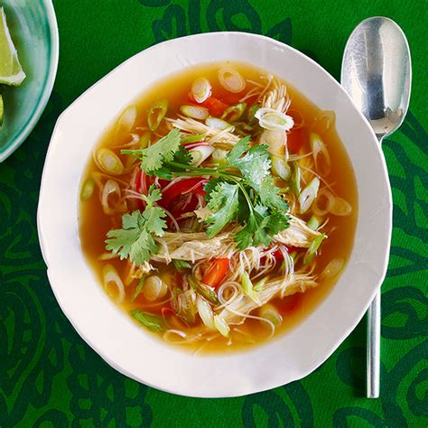 spicy asian chicken noodle soup rachael ray  season