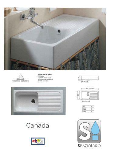 lavello ceramica lavello cucina quot ceramica dolomite quot canada 90x45 ebay