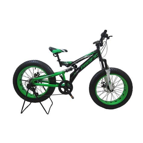 jual pacific viper 5 0 sepeda mtb hitam list hijau 20