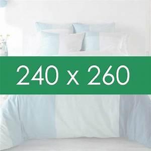 Housse Couette 240x260 : housse de couette la compagnie du blanc ~ Teatrodelosmanantiales.com Idées de Décoration