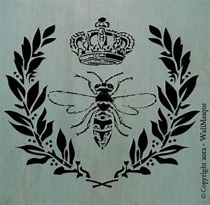 """Napoleon Bee Stencil -10"""" wide x 8.3"""" high - A cool ..."""