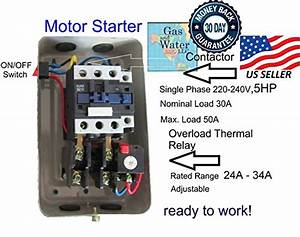 New Magnetic Motor Starter Control For Electric Motor