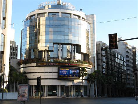 cih casablanca siege bmce bank of africa lance les travaux de nouveau siège