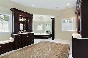 52, Master, Bathroom, Designs, With, Beautiful, Woodwork