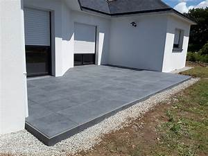 Dalle Sur Plots : terrasse avec dalle sur plot veranda ~ Farleysfitness.com Idées de Décoration