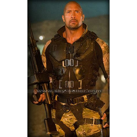 roadblock gi joe retaliation dwayne johnson armor vest