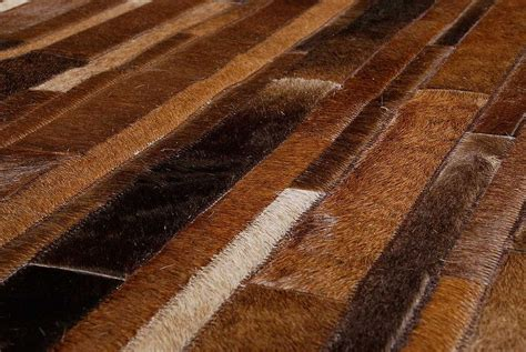 How To Care For A Cowhide Rug by Cleaning Leather Rugs How To Care For And Clean Cowhide