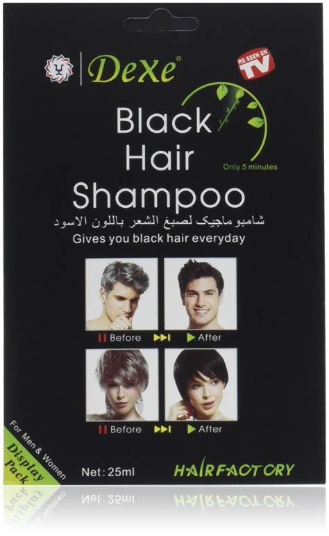 Amazon.com : Natural Hair Dye (Black) Covers Grey Hairs