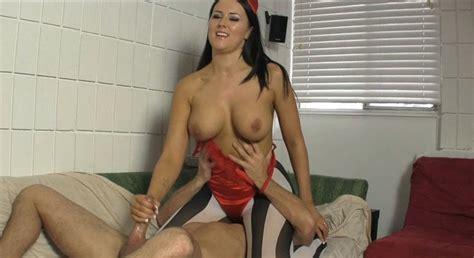 She Devil Alexis Grace Uses Her Sex Slave In Chastity