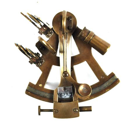 Sextant Buy by Antiqued Sextant With Wooden Presentation Box Pink Cat Shop