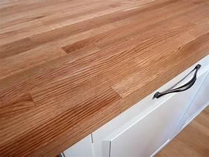 Folie Für Küchenarbeitsplatte : arbeitsplatte k chenarbeitsplatte massivholz roteiche kgz 30 4100 650 ~ Sanjose-hotels-ca.com Haus und Dekorationen