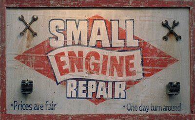 'small Engine Repair'