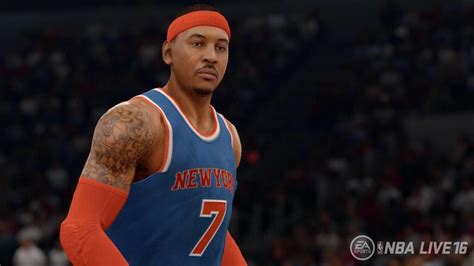NBA Live 16 Screenshot - Carmelo Anthony - Operation Sports