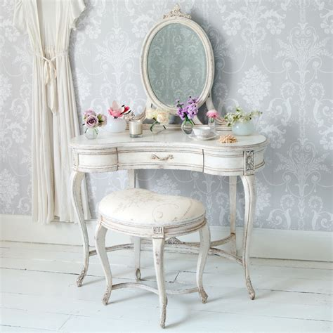 white vintage table l beautiful wallpaper ideas with vintage white dressing