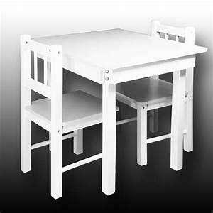 Kindertisch Mit Stühlen Weiß : kindertisch mit 2 st hlen kinder st hle tisch kindertische ~ Michelbontemps.com Haus und Dekorationen