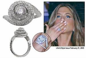 celebrity engagement rings for a lot less bravobride With jennifer aniston wedding ring