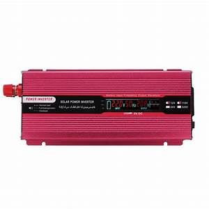 2000w Dc 12  24v To Ac 110v Solar Power Inverter Converters