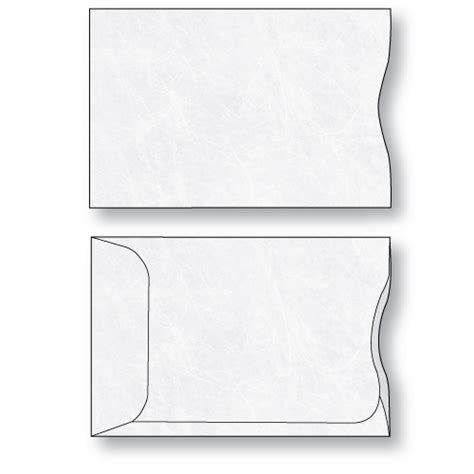 credit card sleeve template tyvek 174 credit card sleeves unprinted sheppard envelope