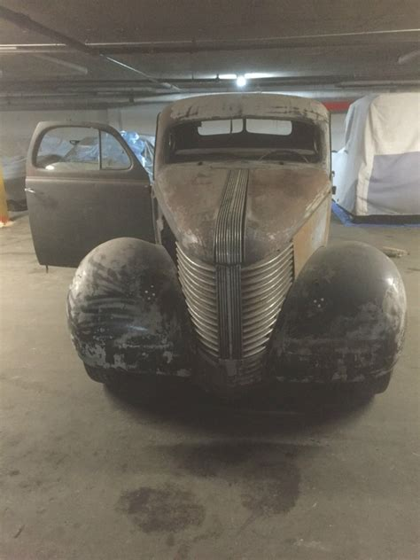 1938 Pontiac Coupe Old School Barn Find Hot Rod for sale