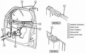 68 Chevelle Window Regulator Diagram