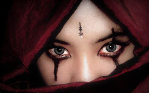 beautiful eyes  arab muslim girls wallpapers