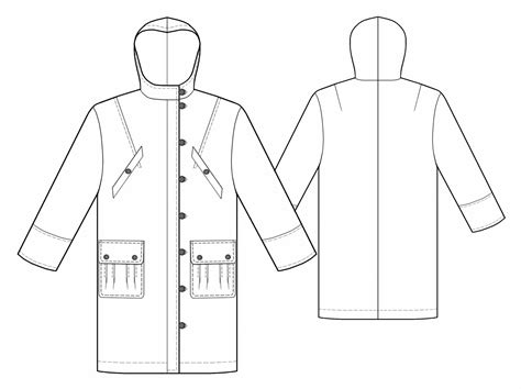 maternity blouses raincoat sewing pattern 5506 made to measure sewing
