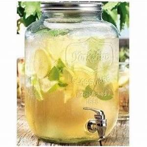 Bonbonne En Verre : bar limonade verres bonbonne en verre avec robinet paris ~ Teatrodelosmanantiales.com Idées de Décoration