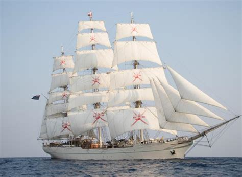 omani sail training ship  visit malta