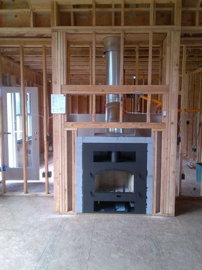 wood burning fireplace   construction portland