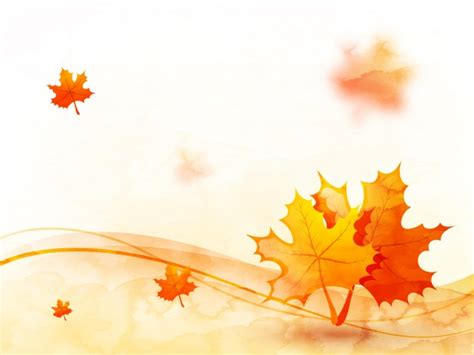 Falling Leaves Live Fall Backgrounds by Autumn Leaves Background With Abstract Waves Vector