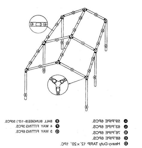 canopy tent assembly instructions