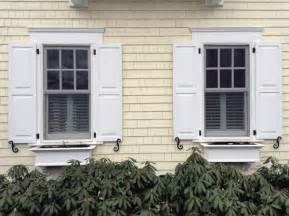 Exterior Wood Shutters