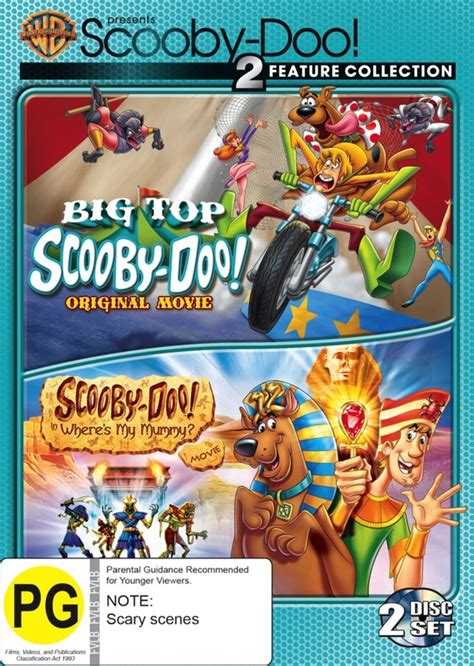 scooby doo big topwheres  mummy double feature