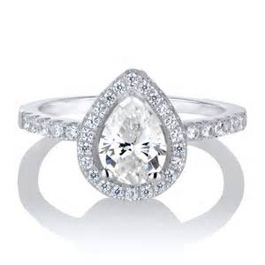 wedding band for halo ring halo ring pear halo ring
