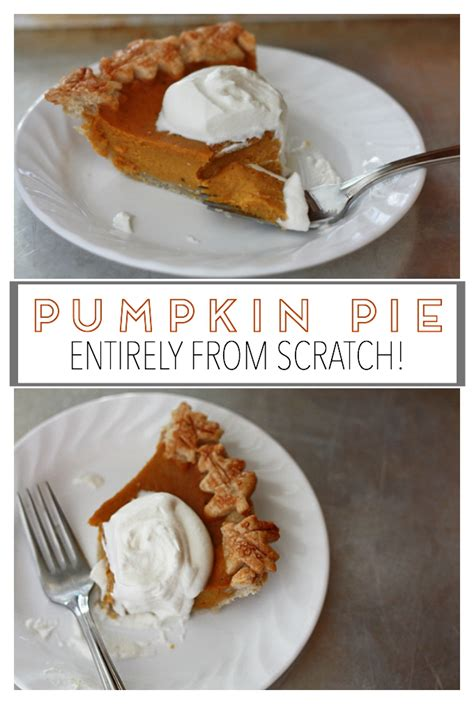 how to make pumpkin pie from scratch pumpkin pie from scratch